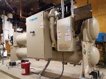 New HVAC Chiller Installed on SRLF