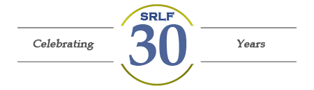 SRLF 30th Anniversary Logo - Link to  SRLF 30th Home Page