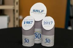 SRLF 30th Anniversary Event - Table Decorations