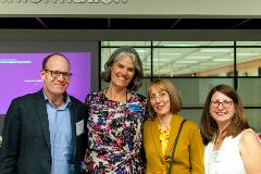 SRLF 30th Anniversary Event - Eric Mitchell, Cathy Martyniak, Colleen Carlton, Christine Barone