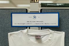 SRLF 30th Anniversary Event - SRLF T-Shirts - Display Label of Designers